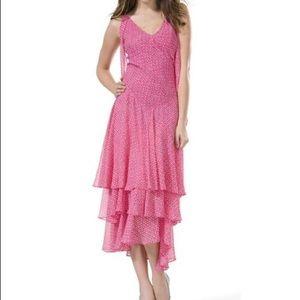 NEW Celia Birtwell for Express 100% Silk Dress